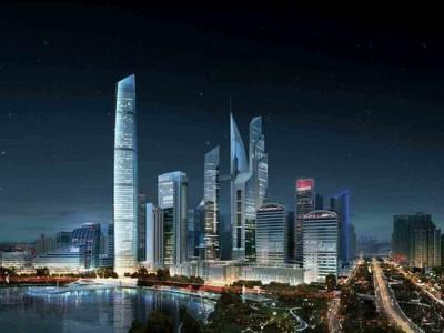 武汉泛海中心酒店弹簧减振器项目案例