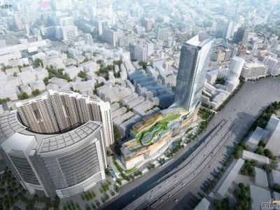 武汉新世界中心三期项目JB型弹簧减振器案例