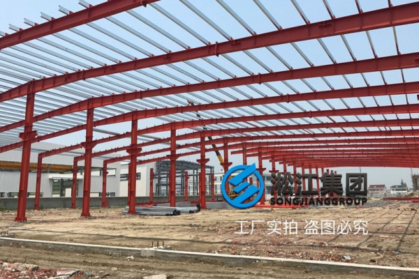 上海淞江减振器集团南通橡胶软接头工厂项目进度跟踪