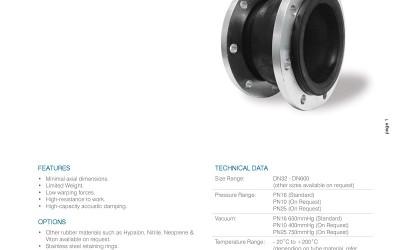 澳大利亚AVFI-ASF10橡胶软接头标准