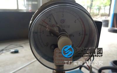 大口径金属软管检测现场