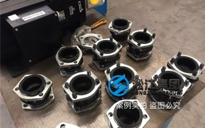 """安装现场注塑机液压泵抽油橡胶避振喉""""ASA NG80"""""""