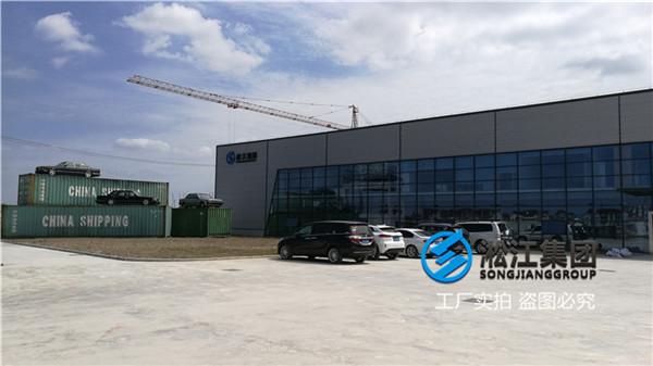 上海耐腐蚀DN50/DN65法兰橡胶软接头