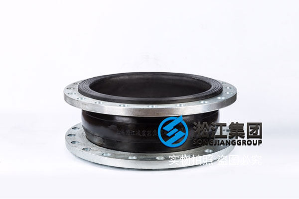 重庆碳钢法兰DN500氟橡胶软连接