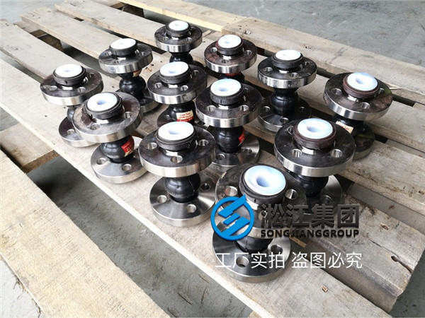 What does DN15 double ball rubber soft joint look like with strong acid resistance