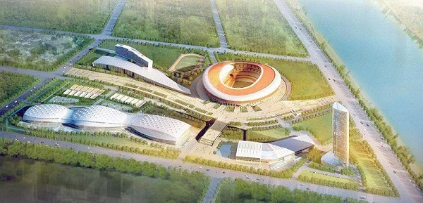 Case Study of KQJZ Air Shock Absorber in BOT Heating Project of Taiyuan Sports Exchange Center